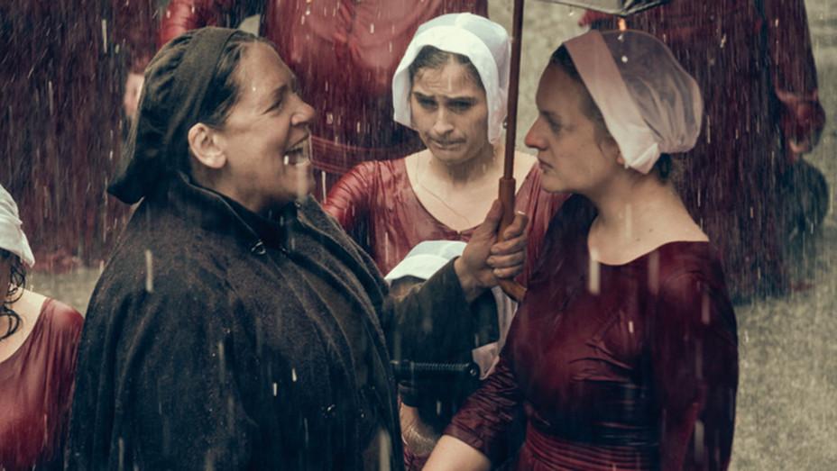 """THE HANDMAID'S TALE -- """"June"""" - Episode 201 - Ann Dowd -Elisabeth Moss-Publicity-H 2018"""