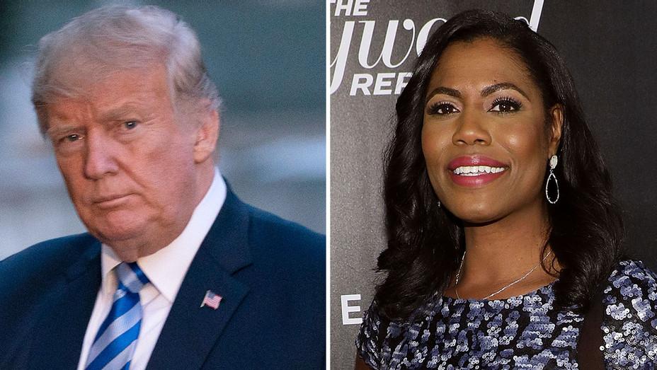 Trump-Omarosa - Split-Getty -H 2018
