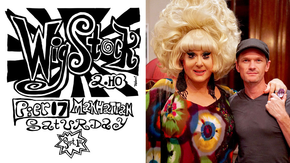 Wigstock with Neil Patrick Harris & Lady Bunny - Publicity-H 2018