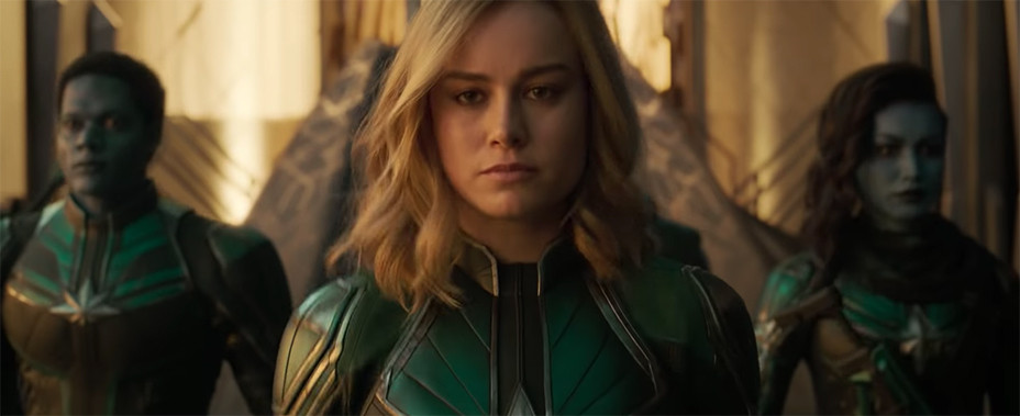 Captain Marvel Trailer - Screengrab - EMBED 2 - 2018