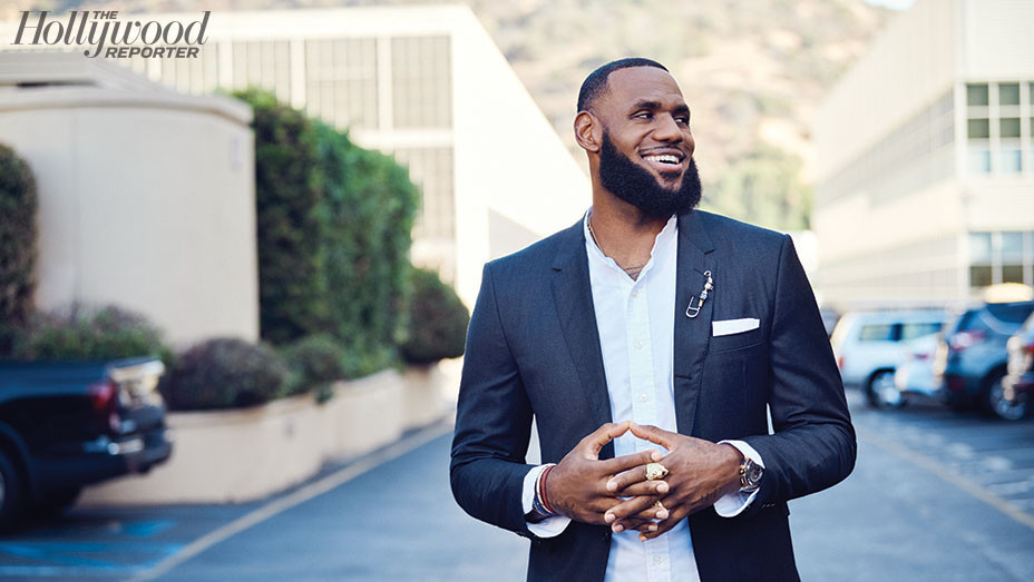 THR - LeBron James on Conquering L.A. - photographed By Kwaku Alston - EMBED 2 - 2018