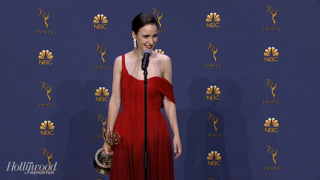"Rachel Brosnahan Celebrates First Emmy Win: ""I Feel Like the New Kid at the Party!"" 
