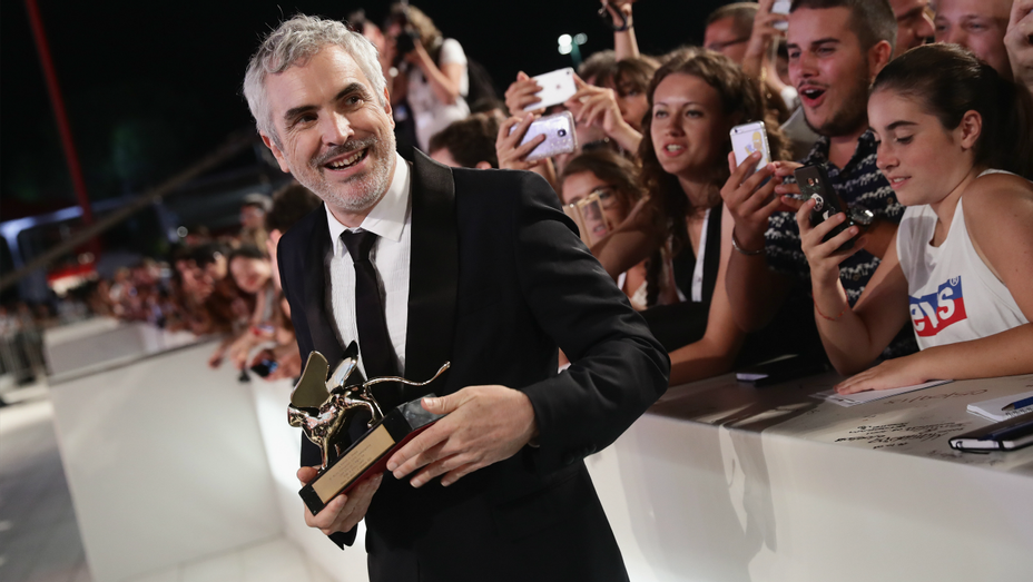 Alfonso Cuaron - Venice Film Festival Golden Lion - Getty-H 2018