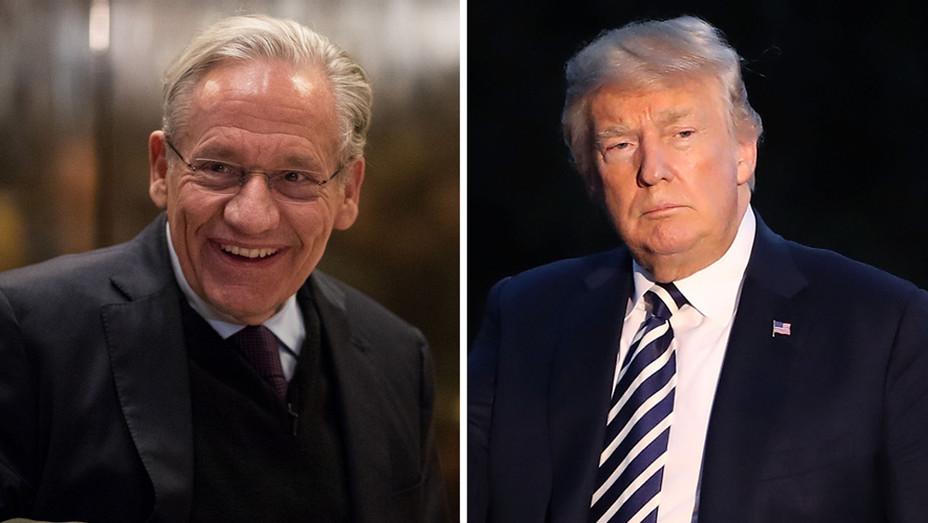 Bob Woodward Donald Trump - Getty - H Split 2018