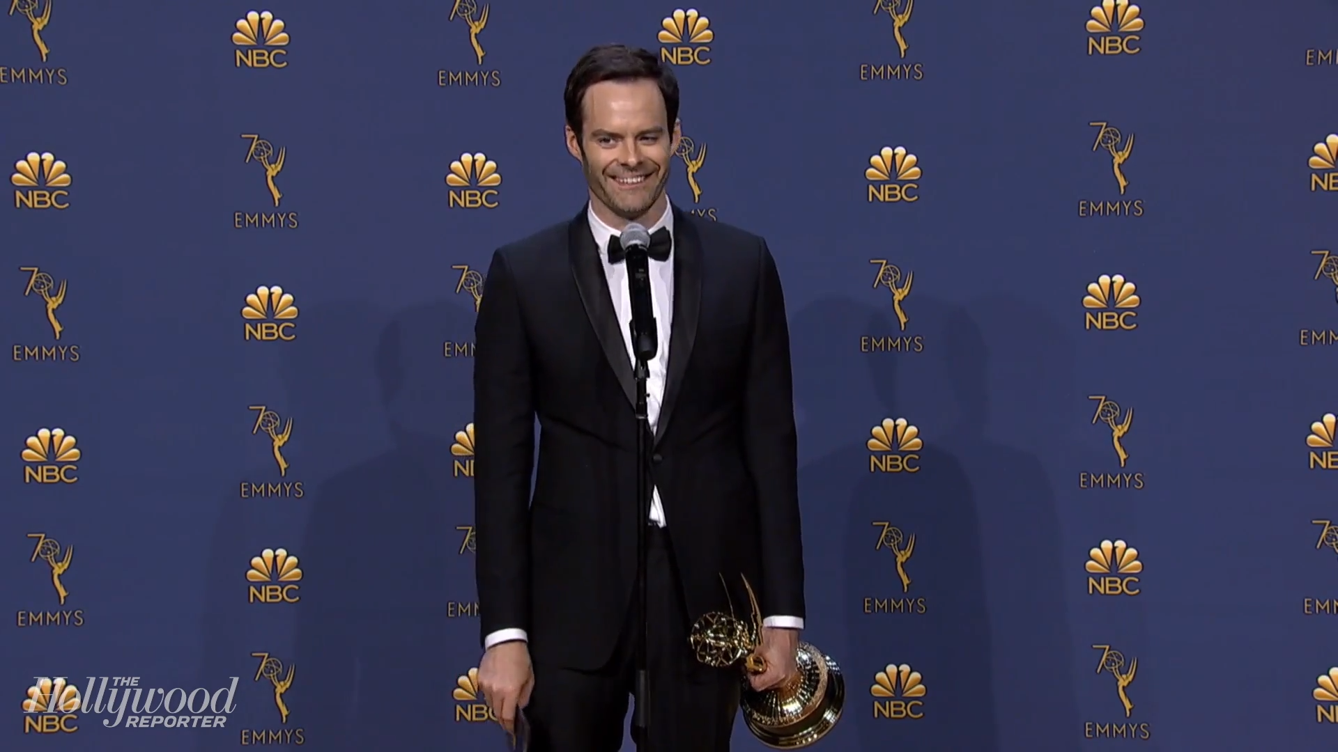 "Bill Hader On Emmys Acceptance Speech: ""I Legit Don't Know What I Said Up There"" 