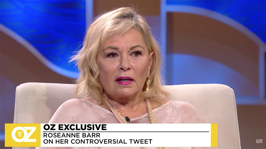 Dr. Oz Exclusive Roseanne Barr Talks About Taking Ambien - Screen Shot-H 2018