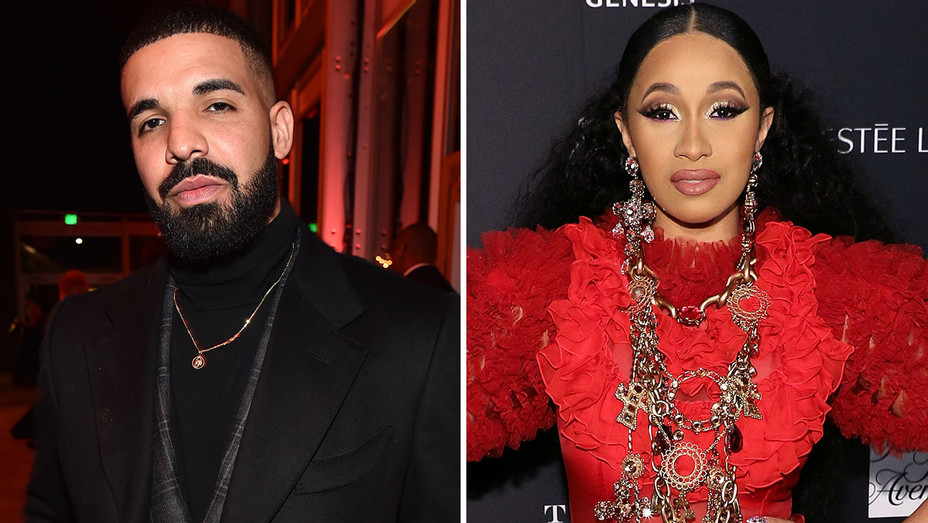 Drake and Cardi B -Split- Getty-H 2018