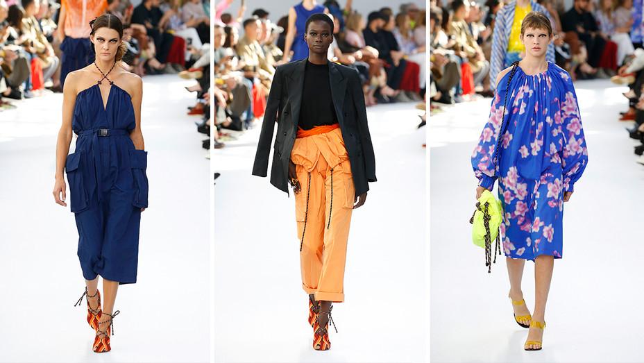 Dries Van Noten Paris Fashion Week Womenswear Split - Getty - H 2018