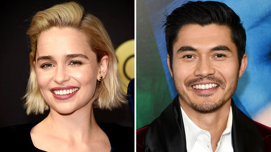 Emilia Clarke and Henry Golding -Solit-Getty-H 2018