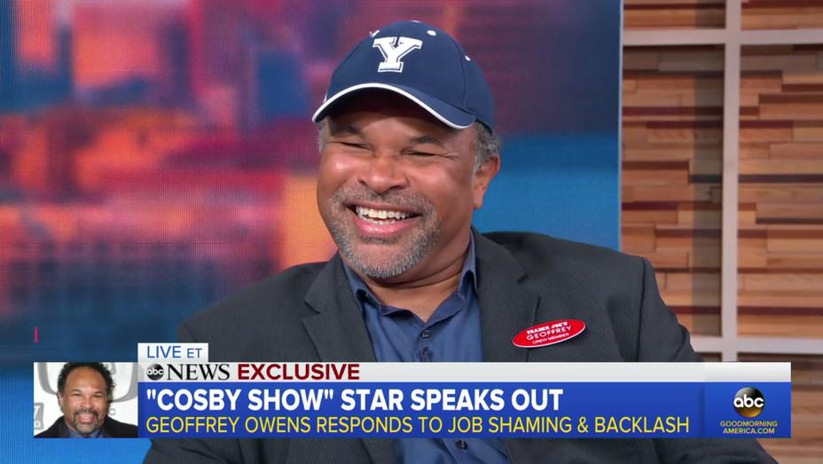 Geoffrey Owens on 'GMA' - H Screengrab 2018