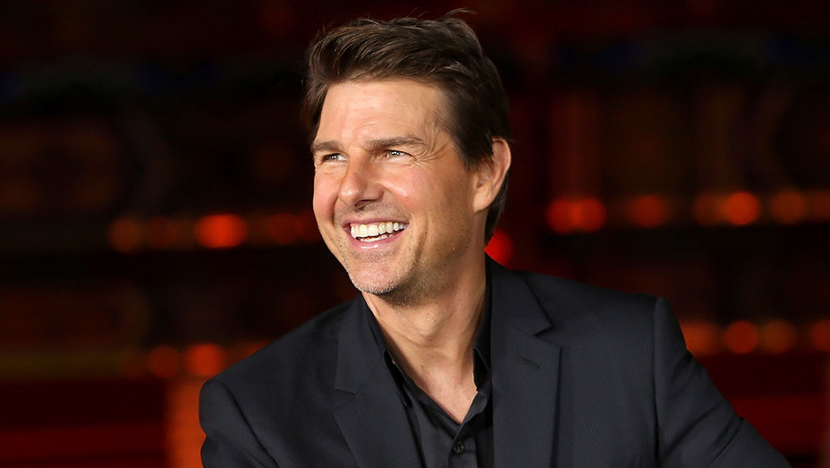 Tom Cruise attends the 'Mission: Impossible - Fallout' Press Conference - Getty-H 2018