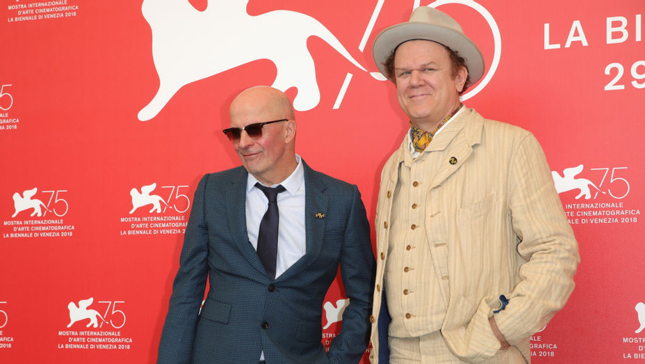 Jacques Audiard and John C Reilly Venice - Getty 2018 H