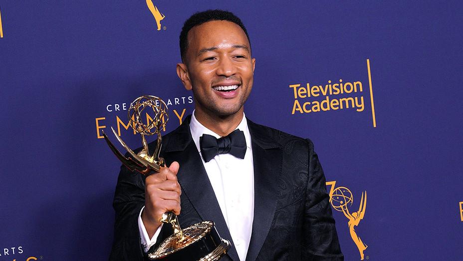John Legend - press room during the 2018 Creative Arts Emmy Awards September 9, 2018- Getty-H 2018