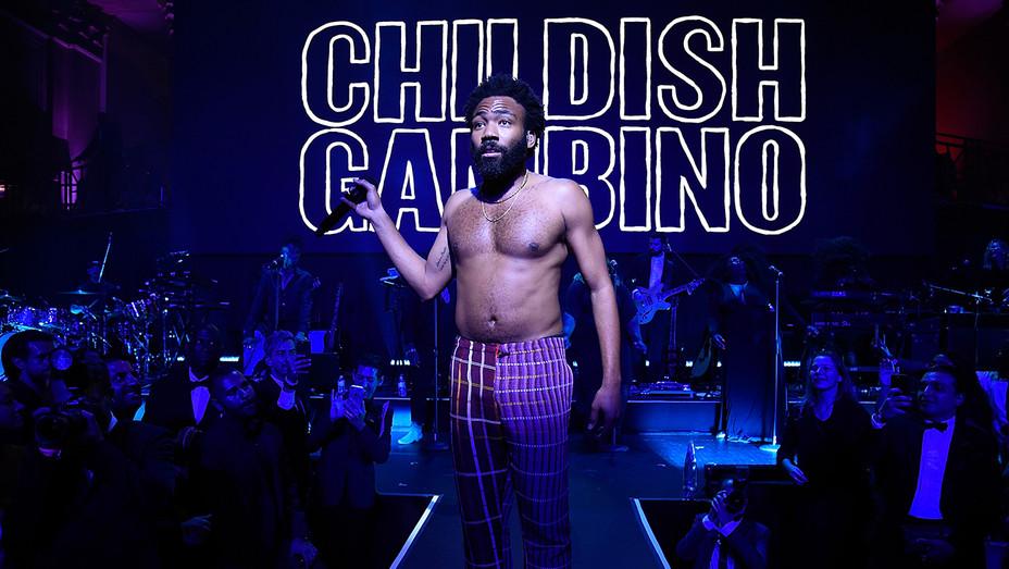 Childish Gambino Diamond Ball - Getty - H 2018