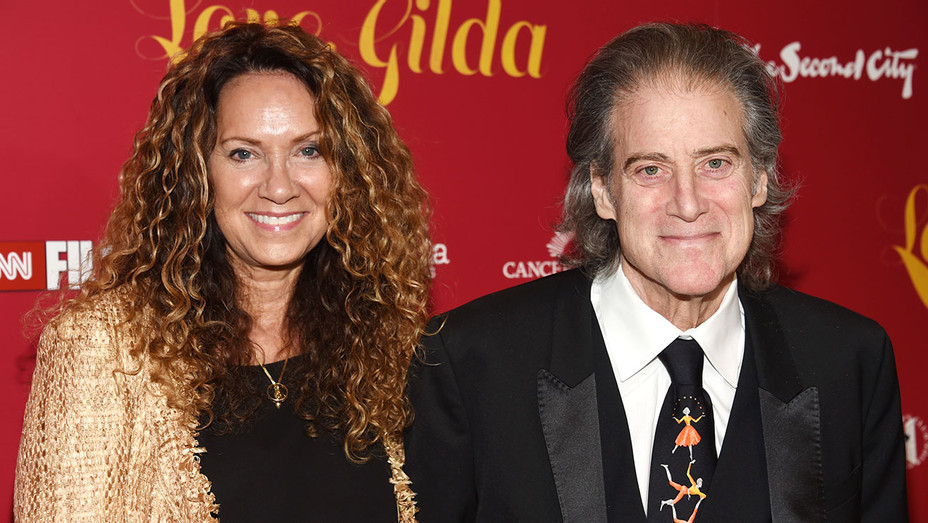 Premiere of  Love, Gilda - Joyce Lapinsky and Richard Lewis  - Getty-H 2018