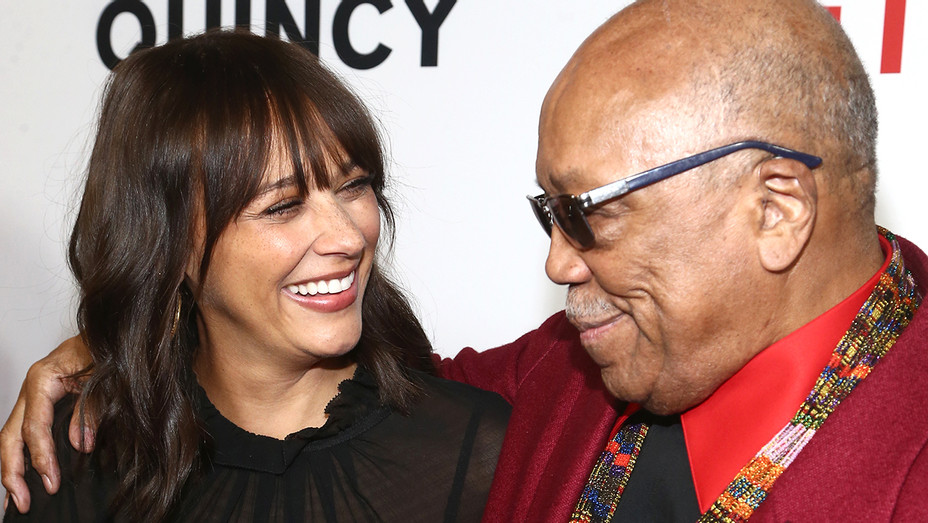 Rashida Jones Quincy Jones Screeening - Getty - H 2018