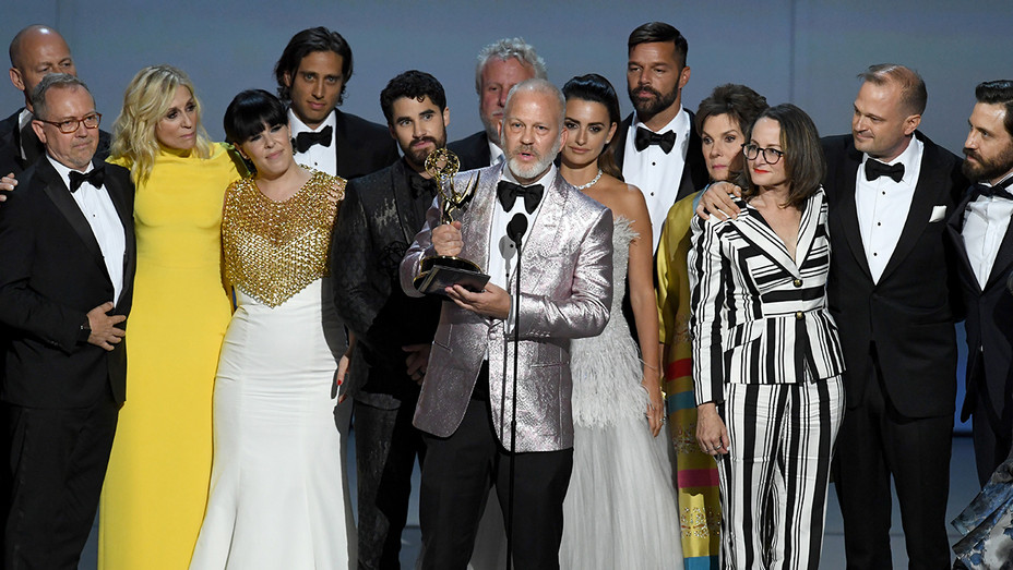 Ryan Murphy Cast and Crew Outstanding Limited Series 70th Emmy Awards - Getty - H 2018