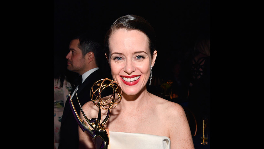 Claire Foy - attends the 70th Emmy Awards Governors Ball - Getty - H 2018
