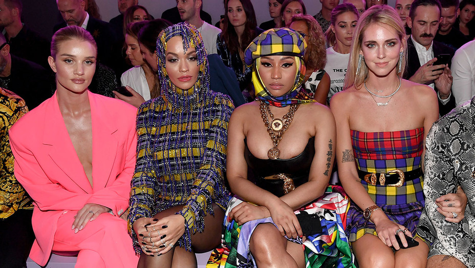 Versace show during Milan Fashion Week Spring -Summer 2019 on September 21, 2018 - Getty-H 2018