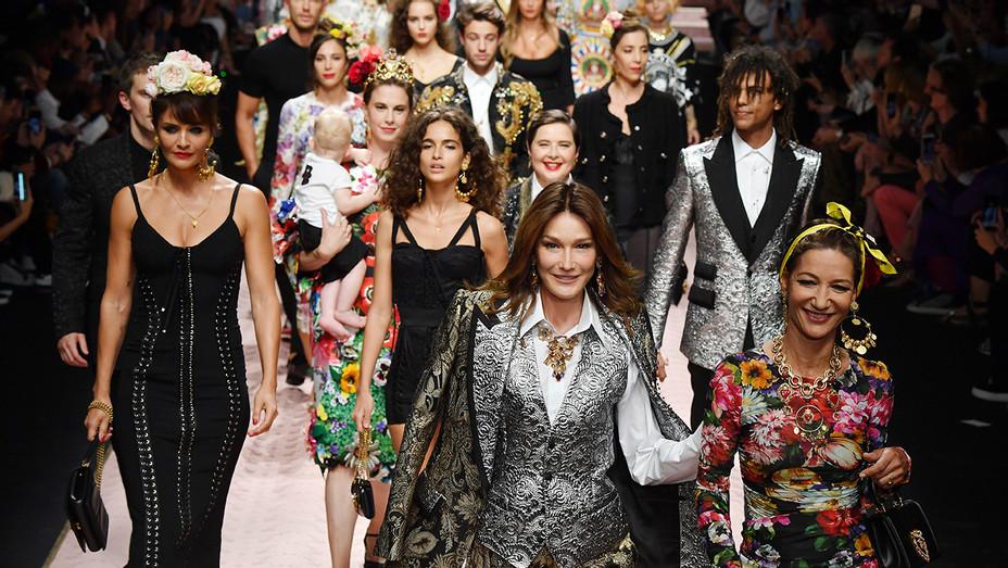 Dolce Gabbana Milan Fashion Week Main - Getty - H 2018