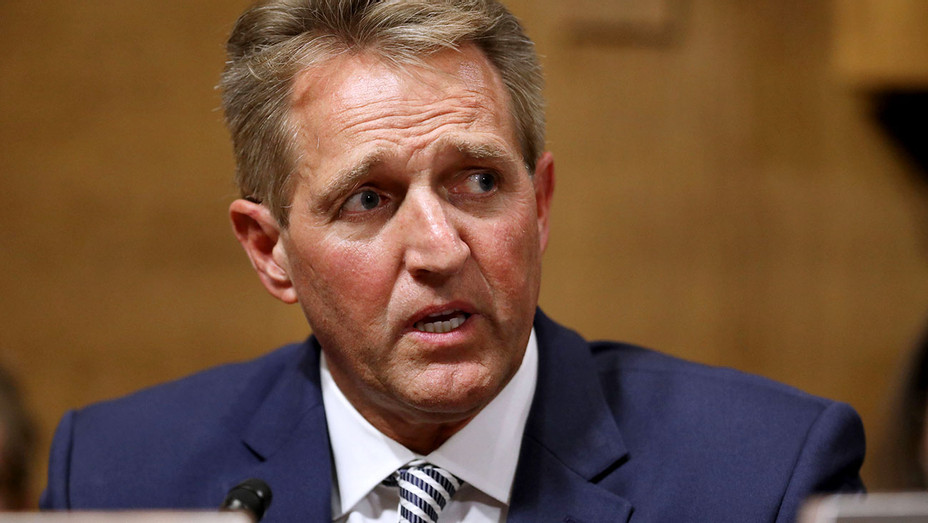 Senate Judiciary Committee Sen. Jeff Flake -September 28, 2018 - Getty-H 2018