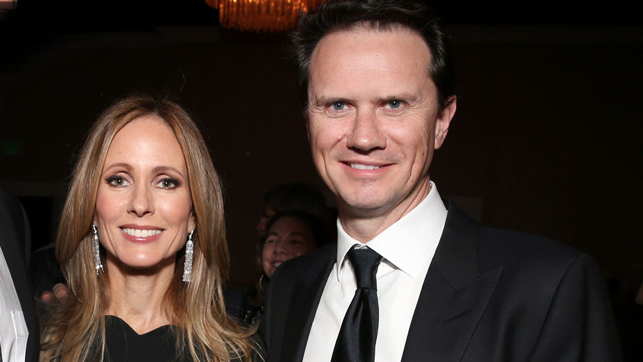 Dana Walden and Peter Rice  -  Children's Rights' 24th annual dinner - Getty-H 2018
