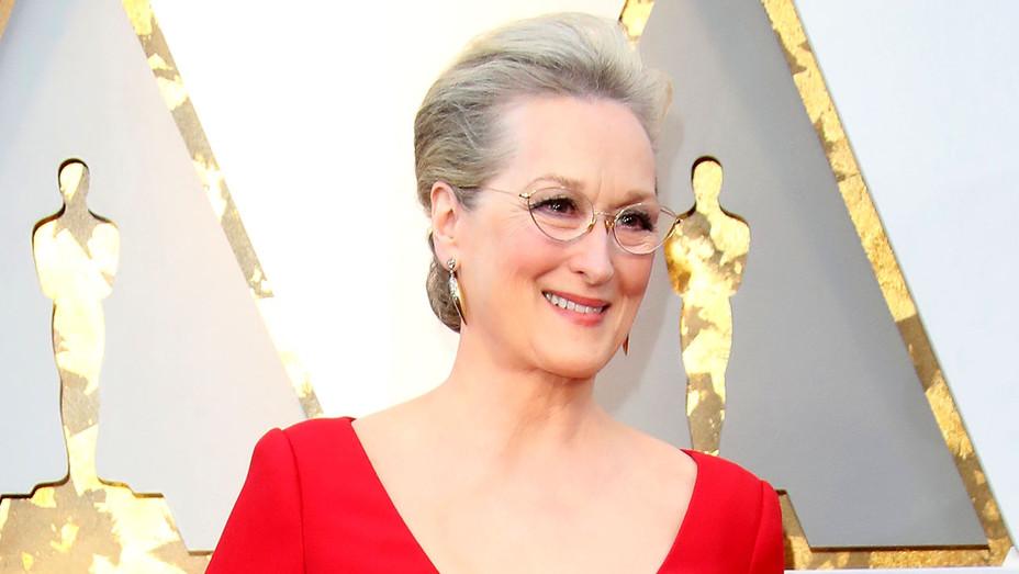 Meryl Streep attends the 90th Annual Academy Awards - Getty-H 2018