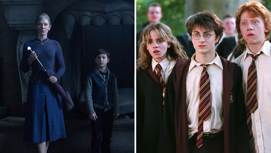 Harry Potter and The House with a Clock in its Walls - H Split 2018