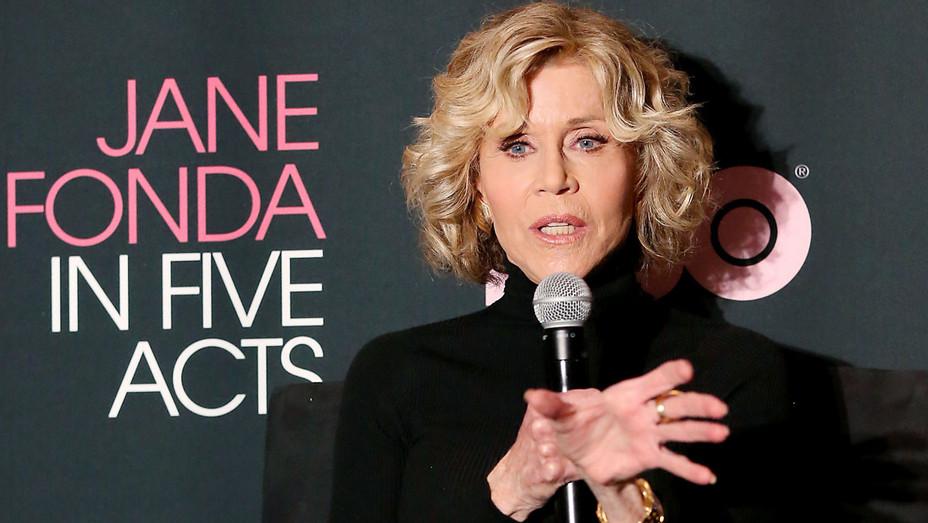 Jane Fonda at 'Jane Fonda in Five Acts'  - Publicity - H 2018