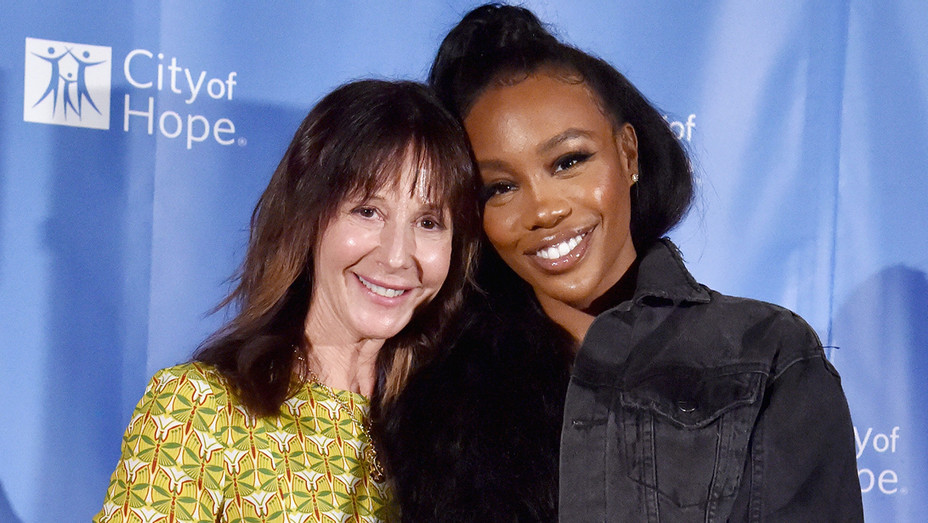 Jody Gerson and SZA - Getty - H 2018