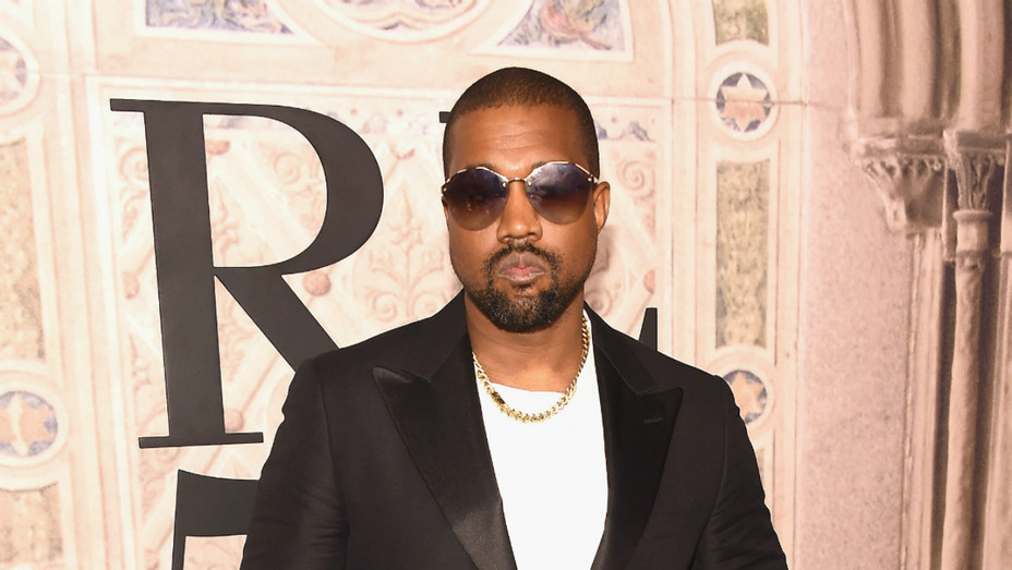 Kanye West at Ralph Lauren event at NYFW 2 - Getty - H 2018