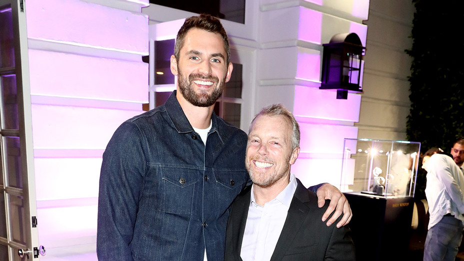 Kevin Love and Gunnar Peterson - Getty - H 2018