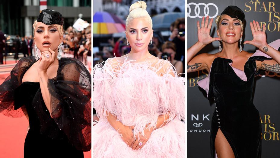Lady Gaga Press Looks - Getty - H Split 2018