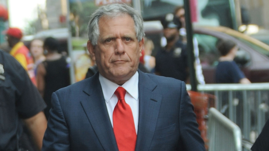 Les Moonves serious - Getty - H 2018