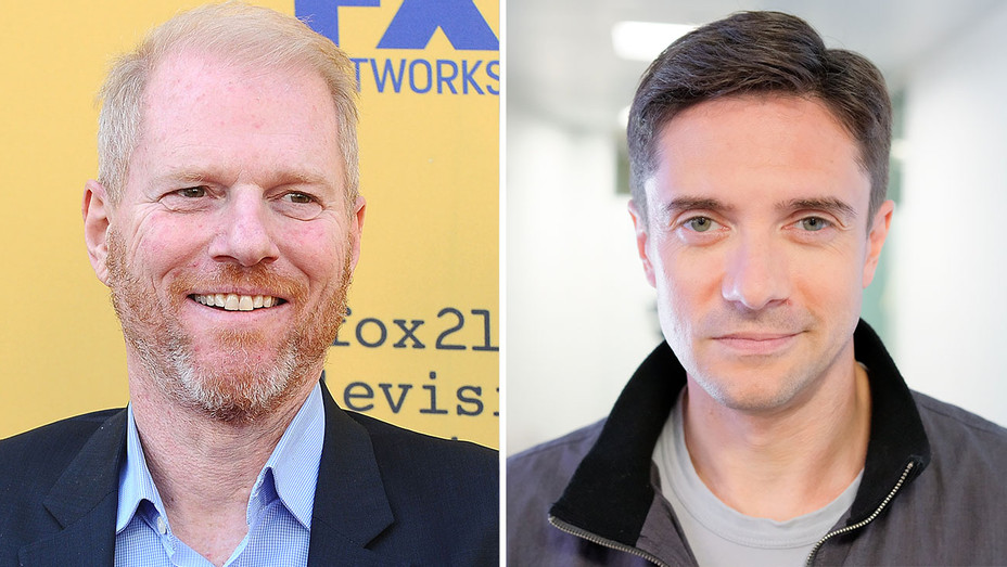 Noah Emmerich and Topher Grace -Split-Getty-H 2018