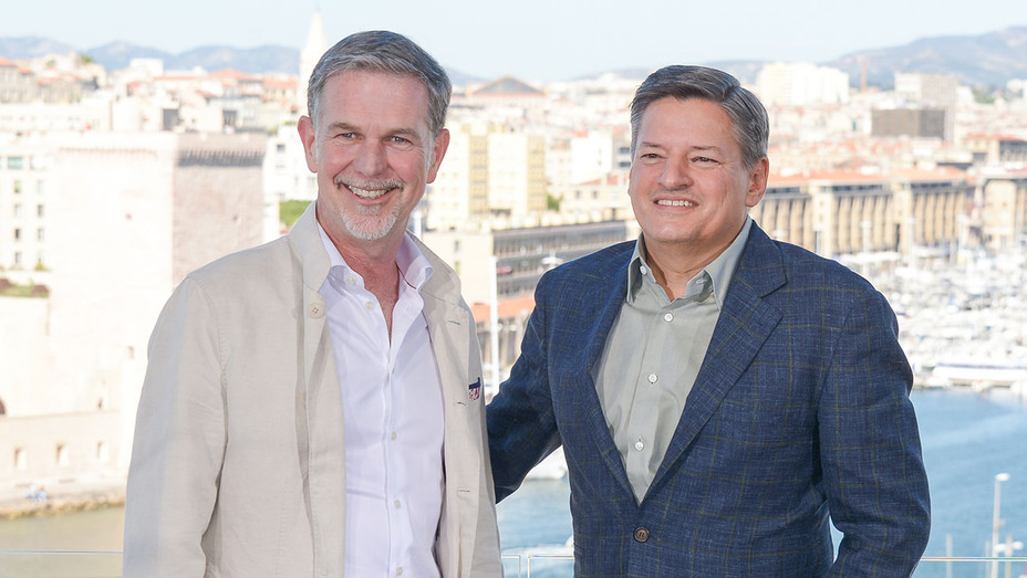 Reed Hastings_Ted Sarandos - Getty - H 2018
