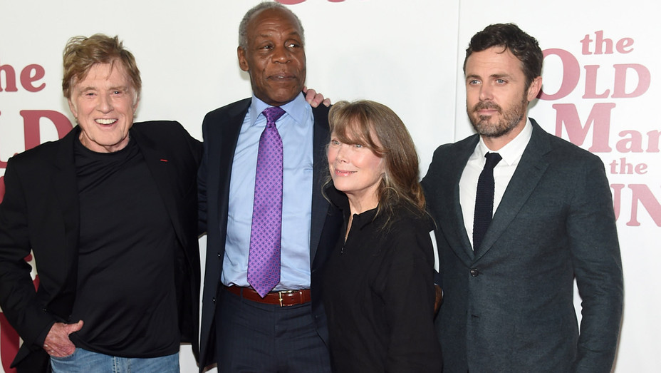Robert Redford, Danny Glover, Sissy Spacek and Casey Affleck attend the 'The Old Man & The Gun' premiere - Getty - H 2018