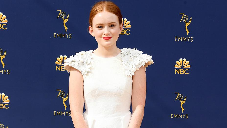 Sadie Sink at 70th Emmy Awards - Getty - H 2018