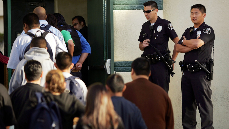 Security at LA Schools - Getty - H 2018