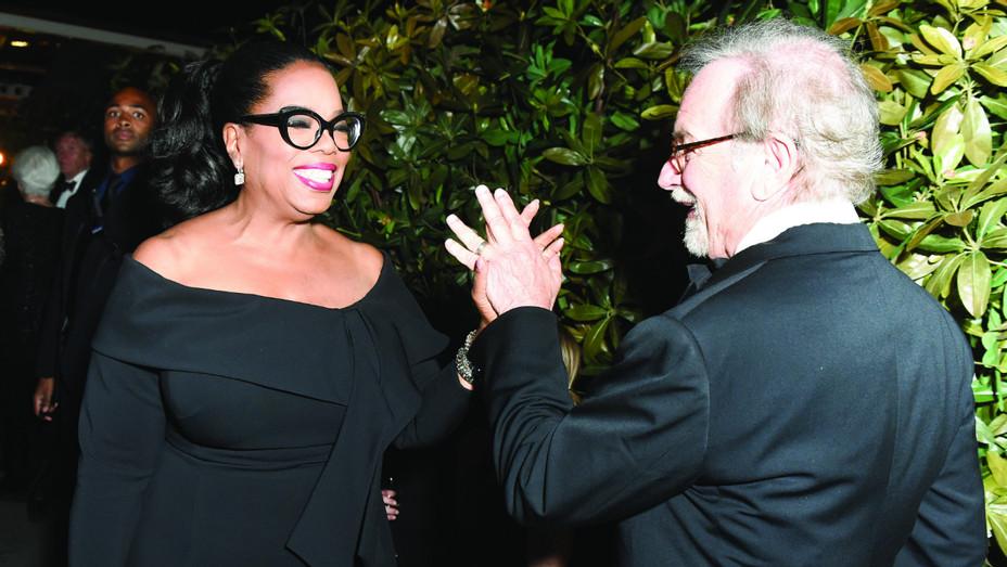 Oprah Winfrey and Steven Spielberg at New York Fashion Week - Publicity - H 2018