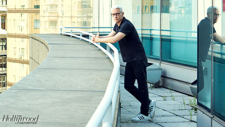"""3 Days on the Job (and at Home) With Anderson Cooper: """"I Don't Really Have a Life Off-Air"""""""