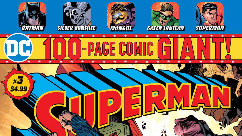 Superman Giant 3 Cover - Publicity - P 2018