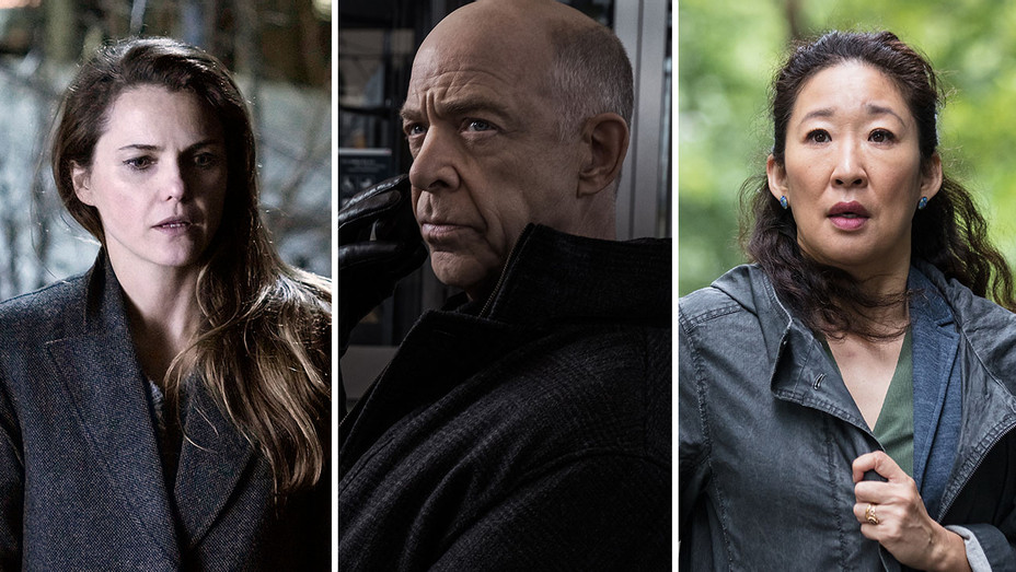 the americans, counterpart and killing eve_Split - Publicity - H 2018