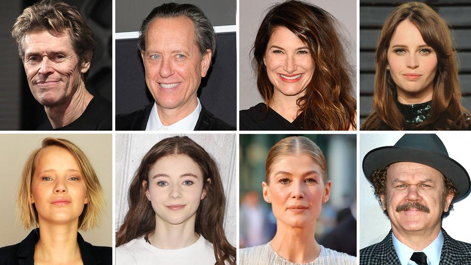 8 Split-Willem Dafoe-Richard E. Grant-Kathryn Hahn-Felicity Jones-Joanna Kulig-Thomasin McKenzie-Rosamund Pike-John C. Reilly-Getty-H 2018