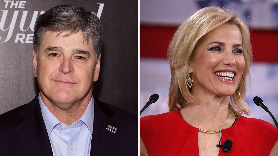 Sean Hannity and Laura Ingraham_Split - Getty - H 2018