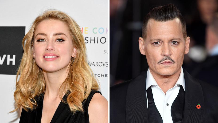 Amber Heard_Johnny Depp_Split - Getty - H 2018