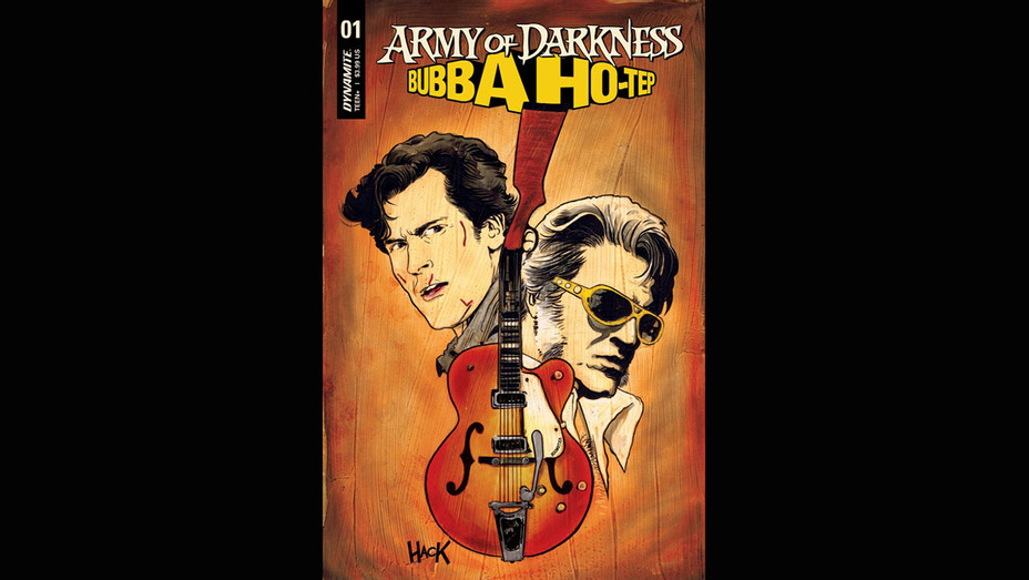 Army of Darkness Bubba Ho-Tep Cover- Robert Hack/Dynamite Entertainment - Publicity-H 2018