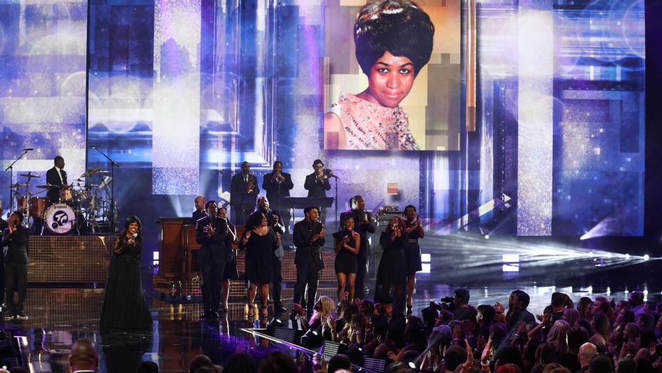 Aretha Franklin Tribute_AMAs - Getty - H 2018