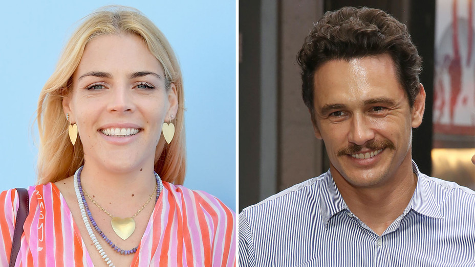 Busy Philipps James Franco - Getty - H Split 2018