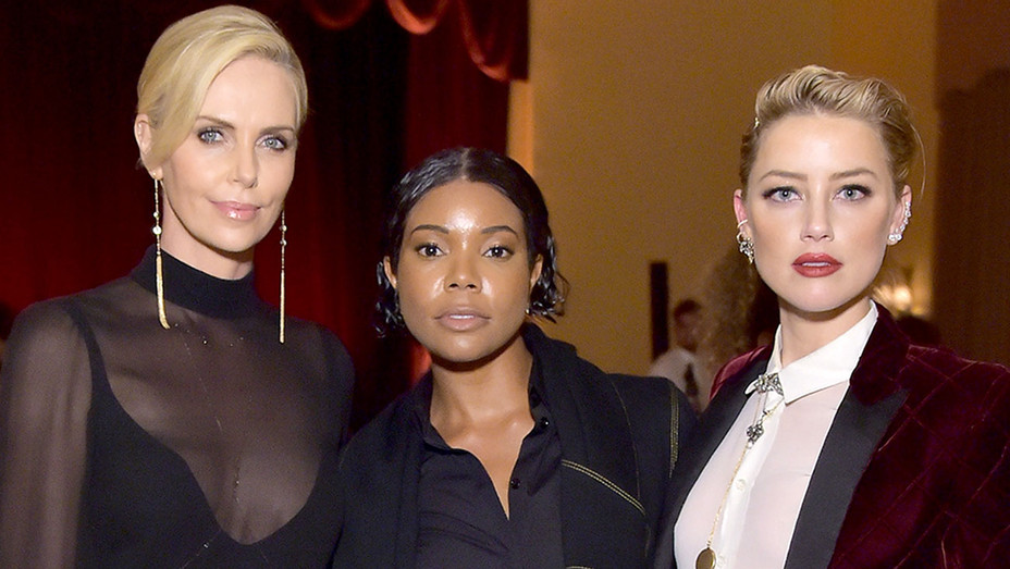 Charlize Theron- Gabrielle Union- Amber Heard-Publicity-H 2018